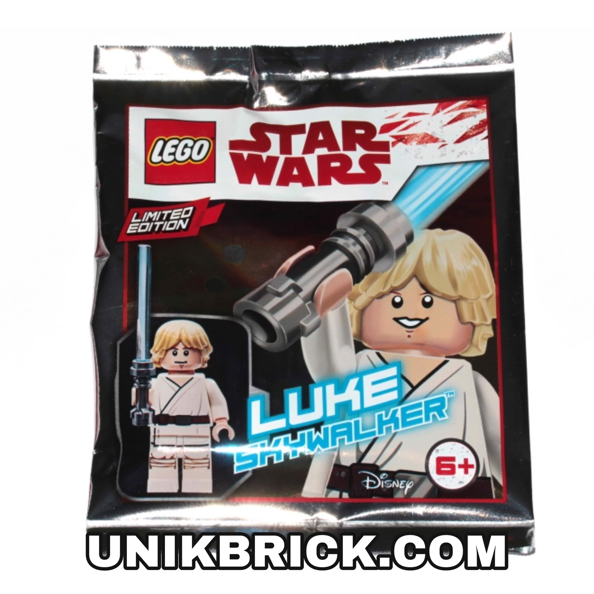 [CÓ HÀNG] LEGO Star Wars 911943 Luke Skywalker Foil Pack Polybag