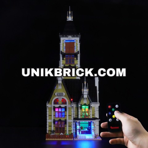 [HÀNG ĐẶT/ ORDER] Briksmax Light Kit For Lego Buildings Haunted House 10273