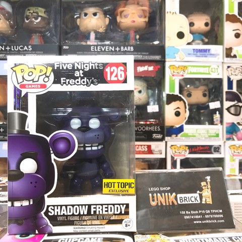 FUNKO POP Five Night at Freddy's 126 Shadow Freddy Hot Topic