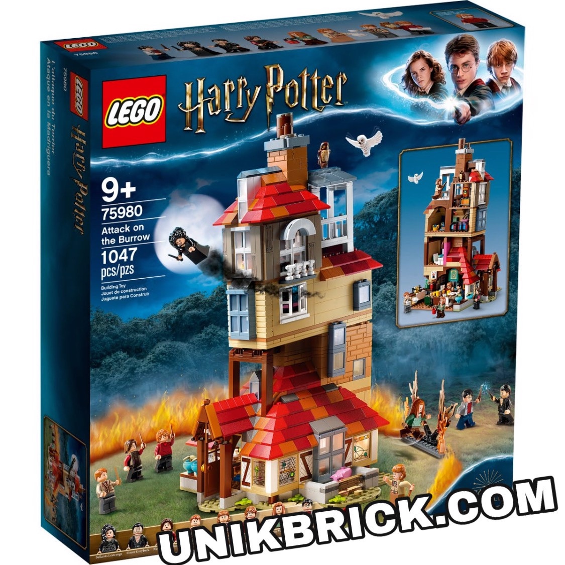 [CÓ HÀNG] LEGO Harry Potter 75980 Attack On The Burrow