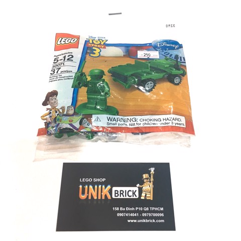[CÓ SẴN] LEGO Toy Story 30071 Army Jeep Polybag