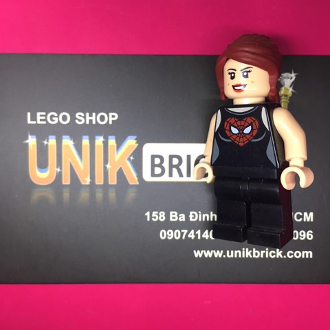LEGO City Red Hair Girl