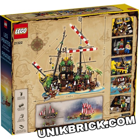 [CÓ HÀNG] LEGO Ideas 21322 Pirates of Barracuda Bay