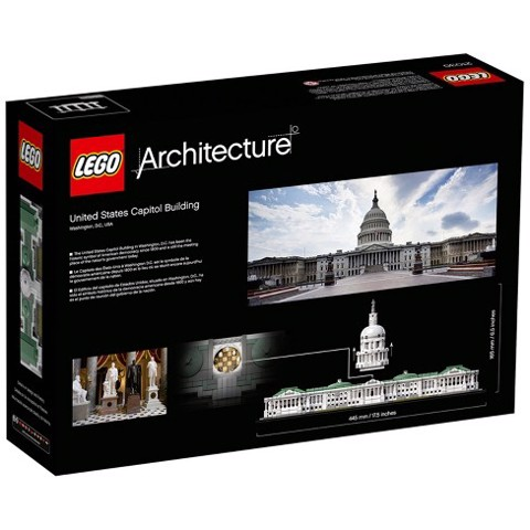 [LIÊN HỆ ĐẶT HÀNG 0907414041] LEGO Architecture 21030 United States Capitol Building