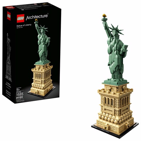 [HÀNG ĐẶT GỌI 0907414041] LEGO 21042 Architecture Statue of Liberty