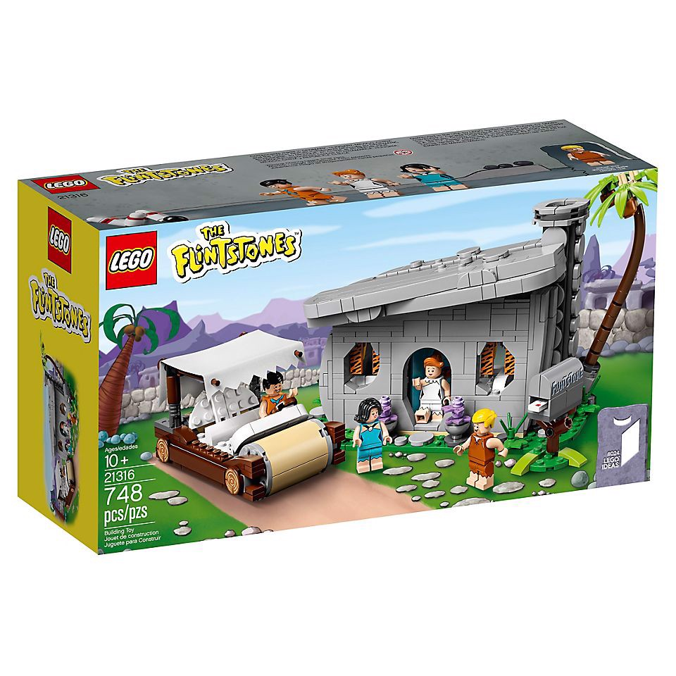 [CÓ SẴN] LEGO Ideas 21316 The Flintstones