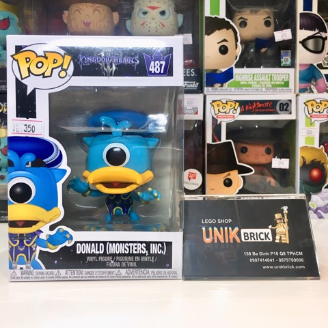 FUNKO POP Disney Kingdom Hearts 487 Donald Monsters INC