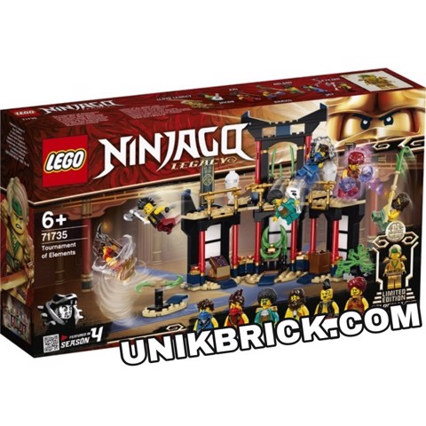 [CÓ HÀNG] LEGO Ninjago 71735 Tournament of Elements