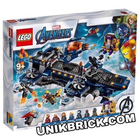 [HÀNG ĐẶT/ ORDER] LEGO Marvel 76153 Avengers Helicarrier