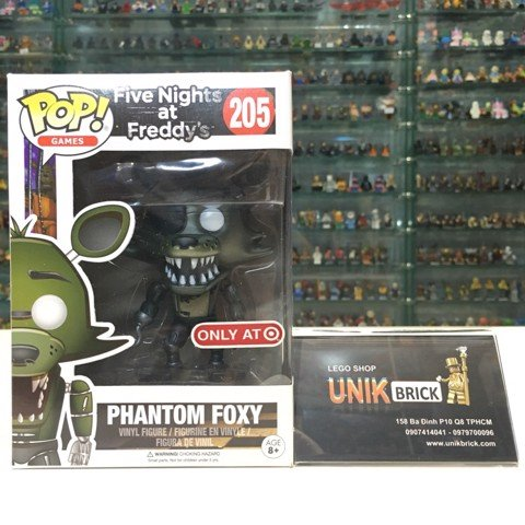 FUNKO POP Five Nights at Freddy's 205 Phantom Foxy