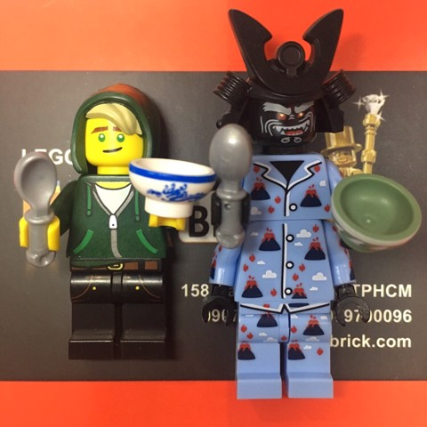 LEGO Ninjago Combo Lloyd and Vocalno Garmadon