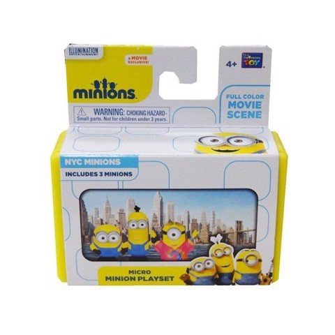 THINKWAY TOYS Micro Minion Playset NYC Minions
