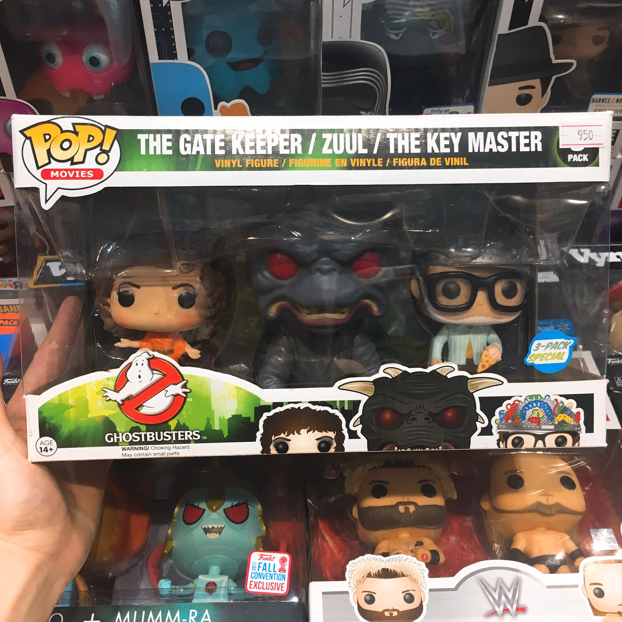 [CÓ SẴN] FUNKO POP 3 Pack The Gate Keeper, Zuul & The Key Master
