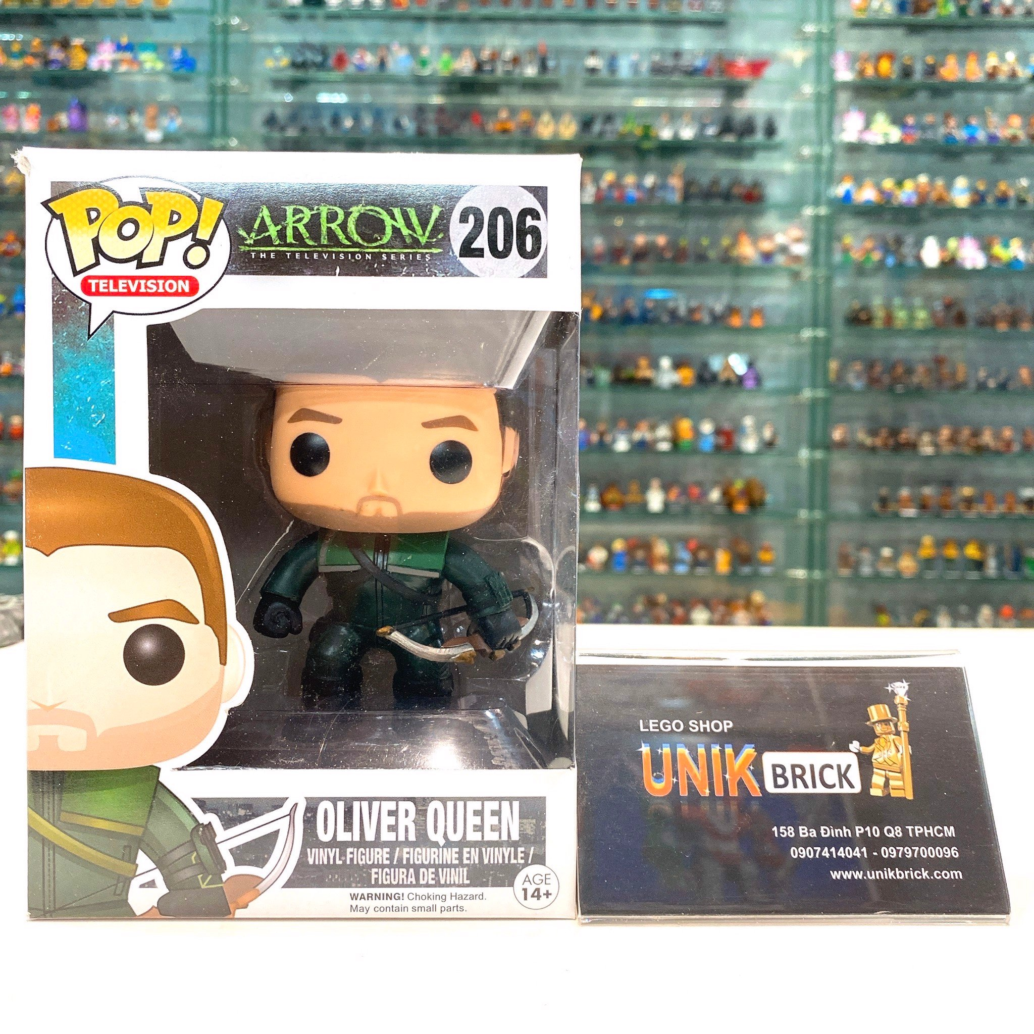 FUNKO POP Arrow 206 Oliver Queen