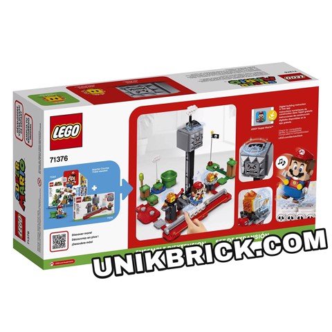 [HÀNG ĐẶT/ ORDER] LEGO Super Mario 71376 Thwomp Drop Expansion Set