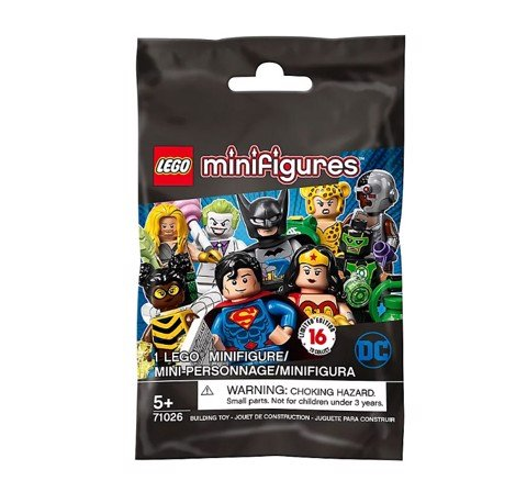 [CÓ HÀNG] LEGO DC Super Heroes Minifigures Series 71026 Polybag