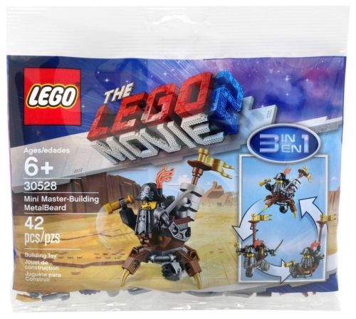 [HÀNG CÓ SẴN] LEGO Polybag 30528 The Lego Movie 2 Mini Master-Building MetalBeard 3 in 1