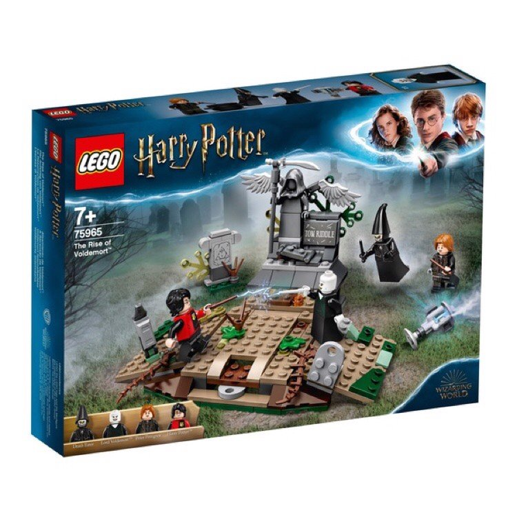 [HÀNG ĐẶT/ ORDER] LEGO Harry Potter 75965 The Rise of Voldemort