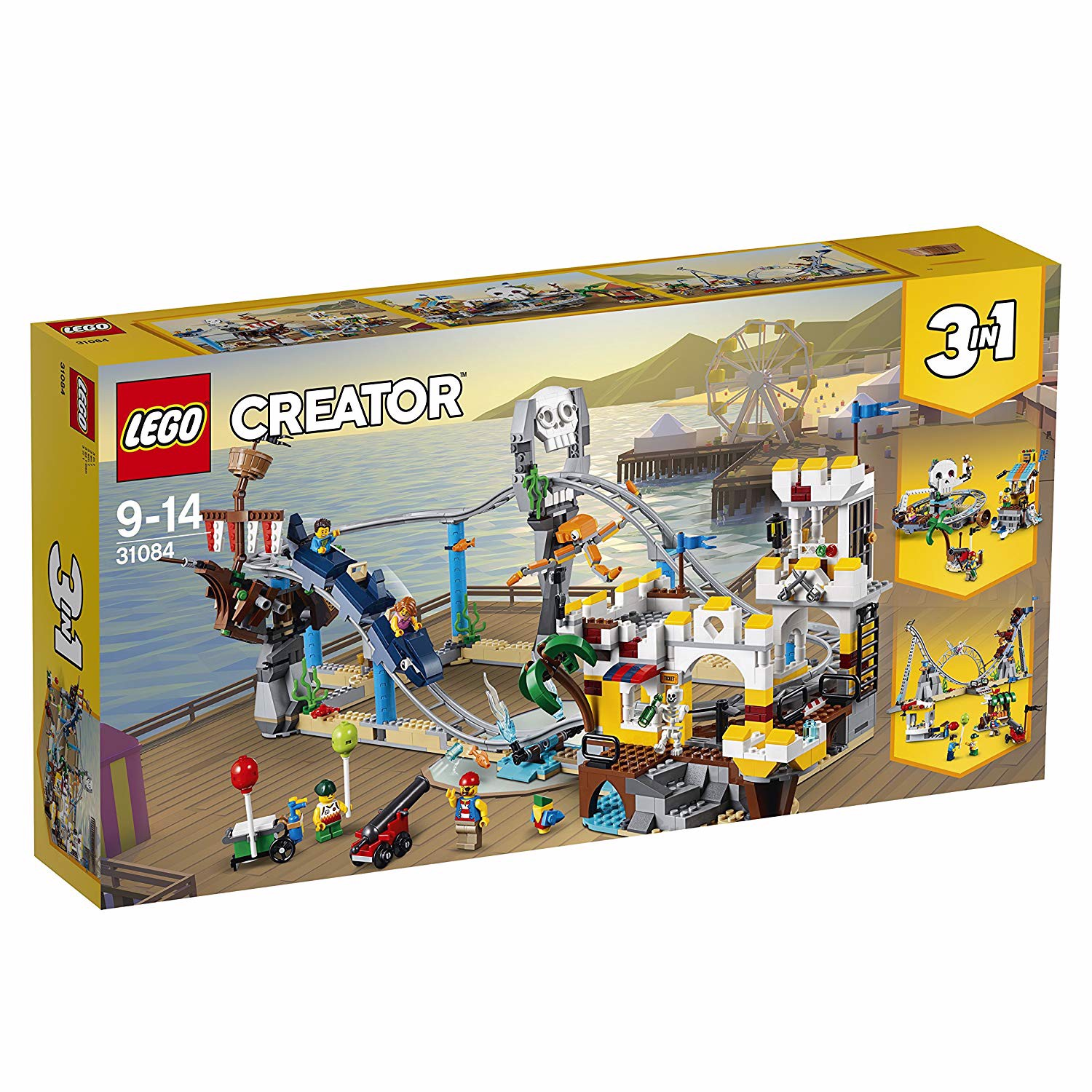 [CÓ SẴN] LEGO Creator 31084 Pirate Roller Coaster 3 in 1