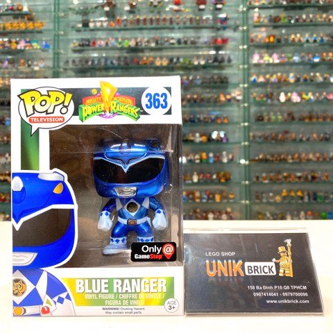 FUNKO POP Power Rangers 363 Blue Ranger
