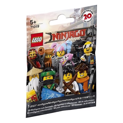 LEGO 71019 Polybag Minifigures Series The Ninjago Movie