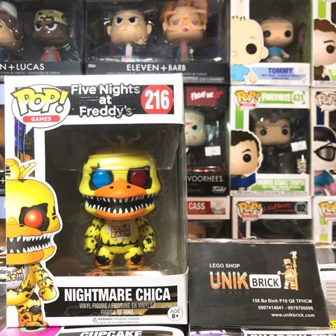 FUNKO POP Five Nights at Freddy's 216 Nightmare Chica