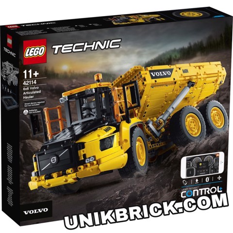 [HÀNG ĐẶT/ ORDER] LEGO Technic 42114 6x6 Volvo Articulated Hauler