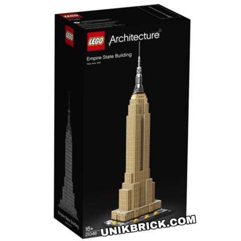 [CÓ HÀNG] LEGO Architecture 21046 Empire State Building