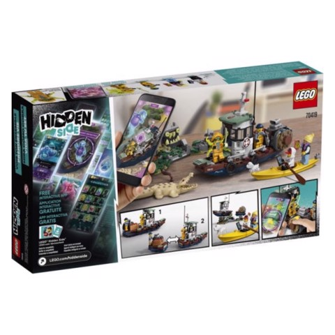 [CÓ HÀNG] LEGO Hidden Side 70419 Wrecked Shrimp Boat