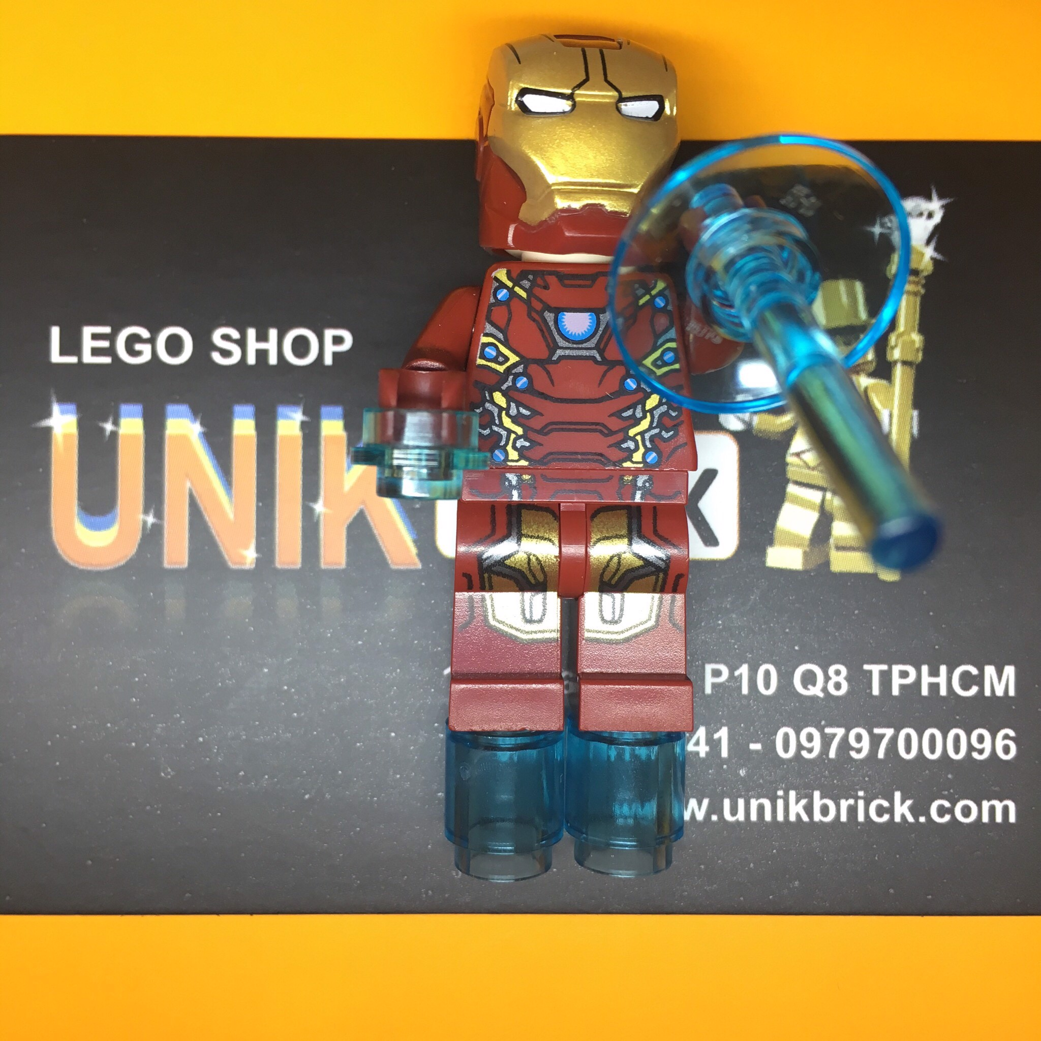 LEGO Marvel Super Heroes Iron Man Mark 46