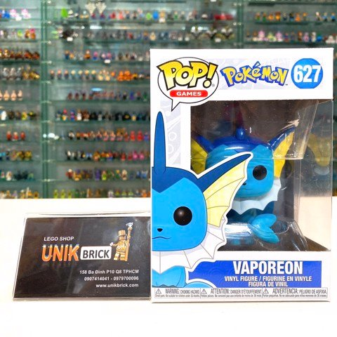 FUNKO POP Pokemon 627 Vaporeon