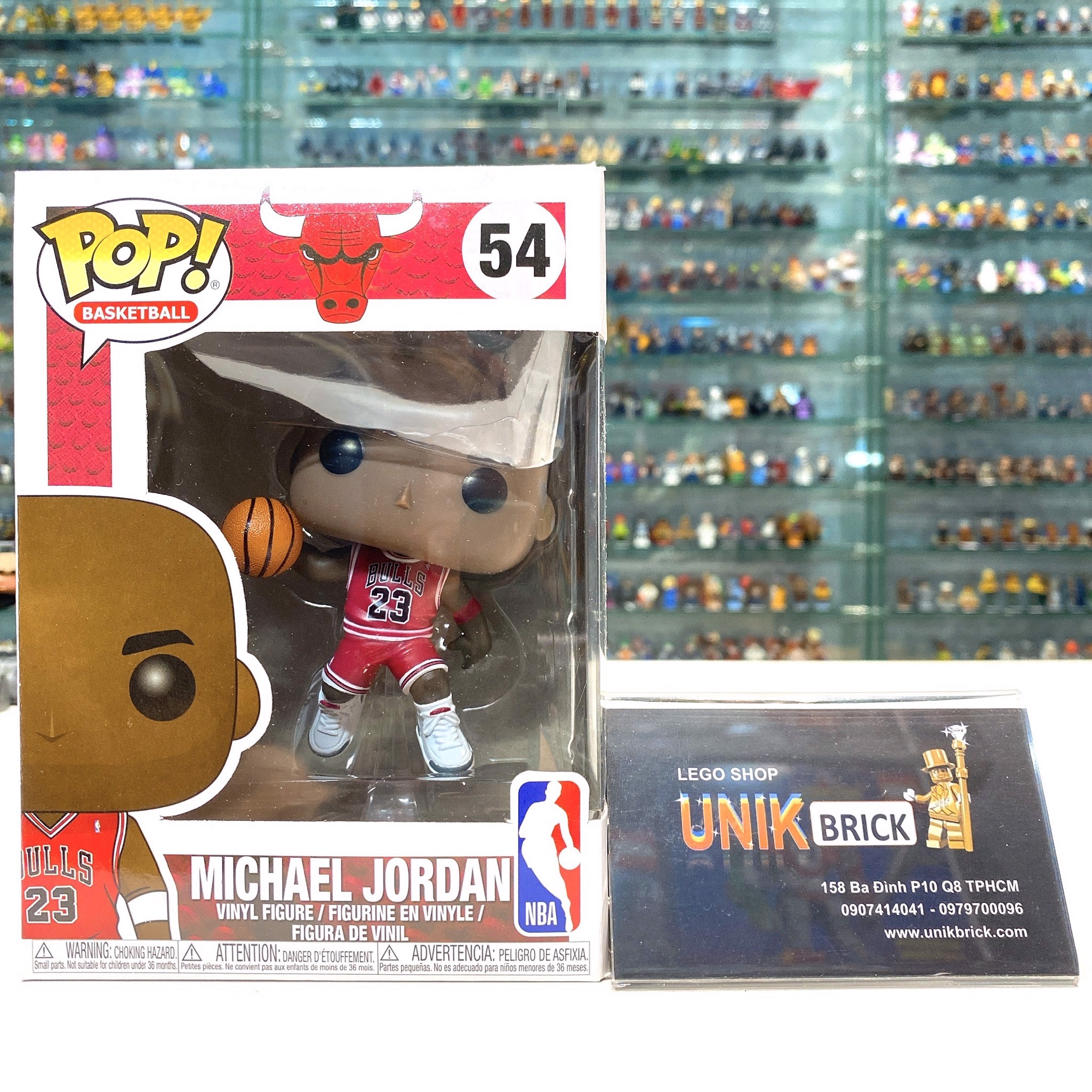 FUNKO POP NBA Chicago Bulls 54 Michael Jordan