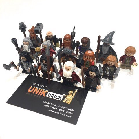 [CÓ SẴN] LEGO The Hobbit LOTR Thorin and Company