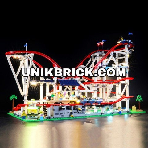 [HÀNG ĐẶT/ ORDER] Briksmax Light Kit For Roller Coaster 10261