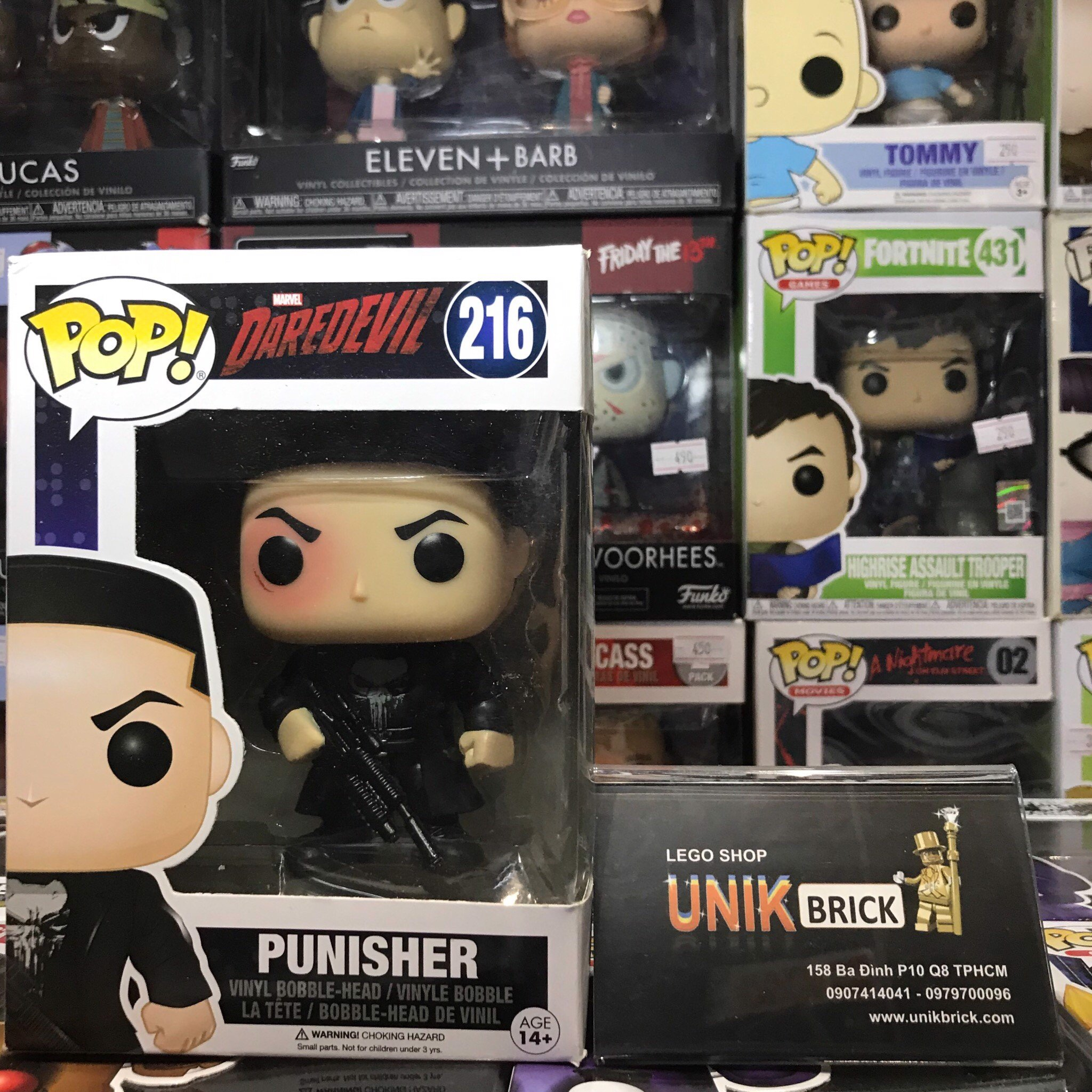 FUNKO POP Daredevil 216 Punisher