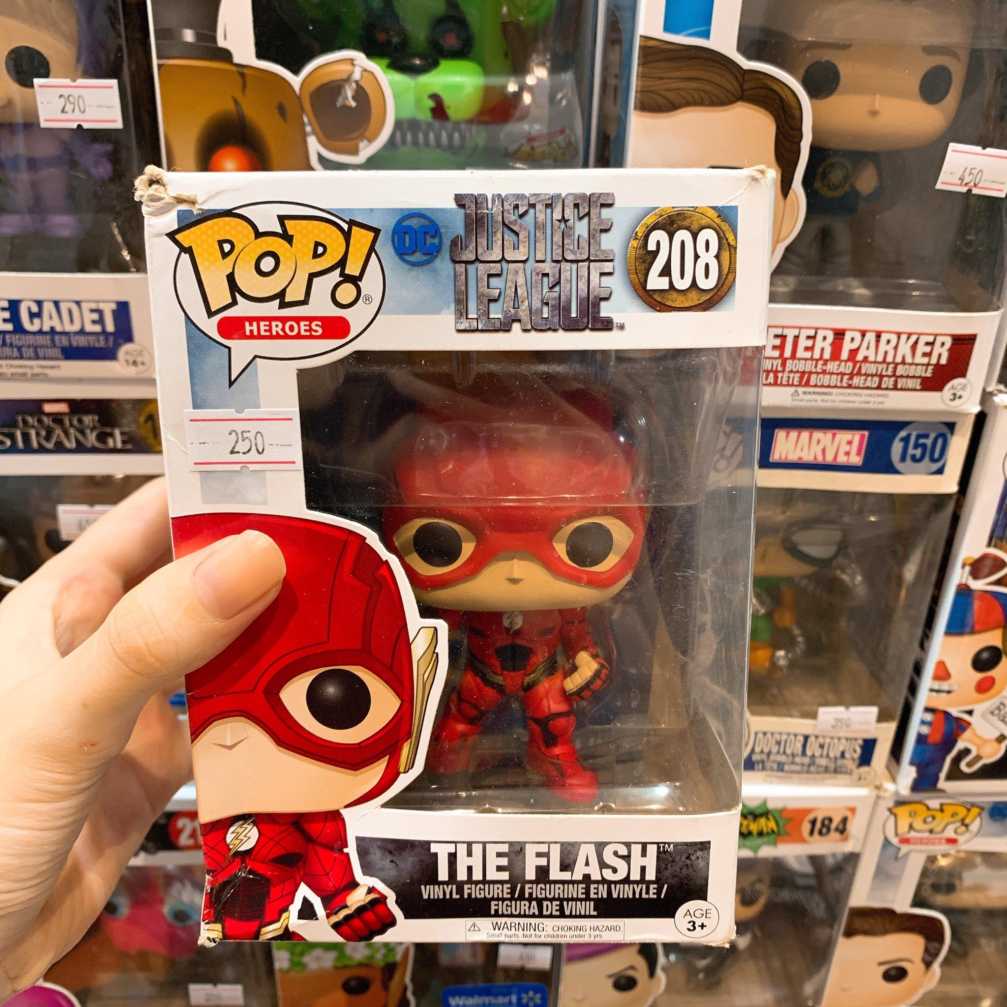 [CÓ SẴN] FUNKO POP 208 The Flash