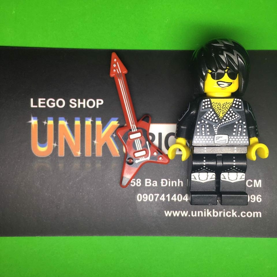 LEGO Rock Star trong Minifigures Series 12