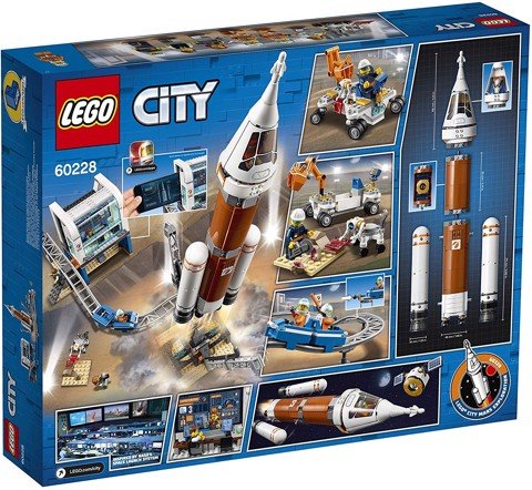 [HÀNG ĐẶT/ORDER] LEGO City 60228 Deep Space Rocket and Launch Control