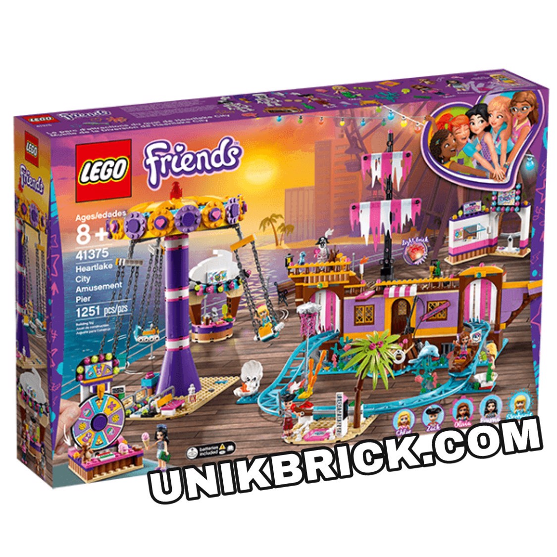 [HÀNG ĐẶT/ ORDER] LEGO Friends 41375 Heartlake City Amusement Pier