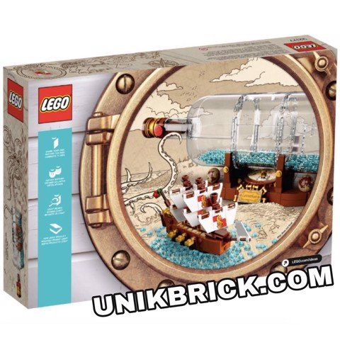 [CÓ HÀNG] LEGO Ideas 92177 Ship in a Bottle