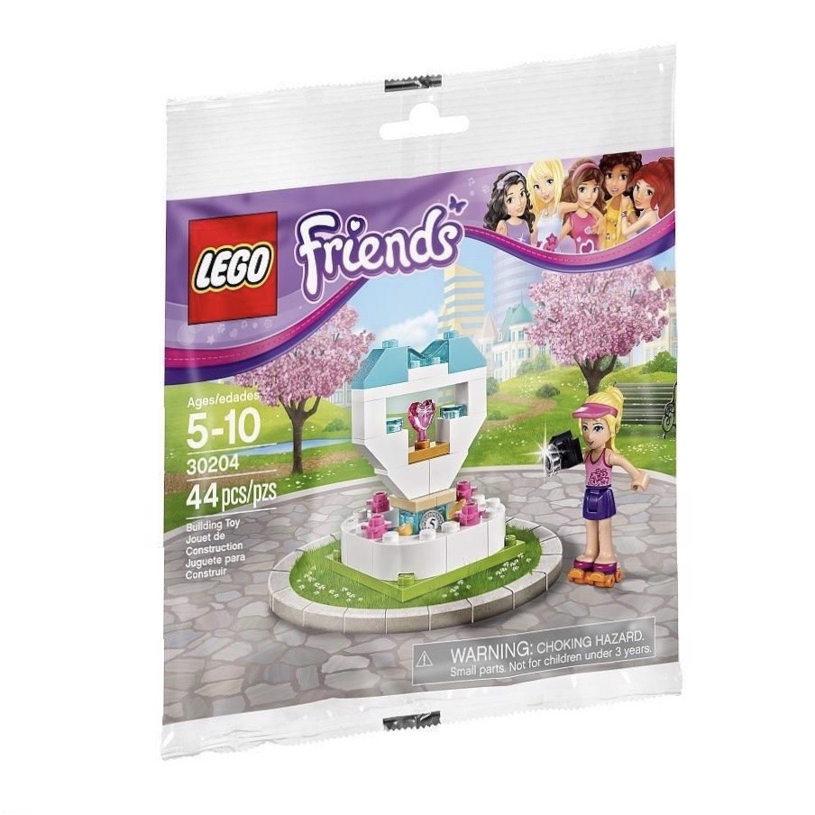 [CÓ HÀNG] LEGO Friends 30204 Wish Fountain Polybag