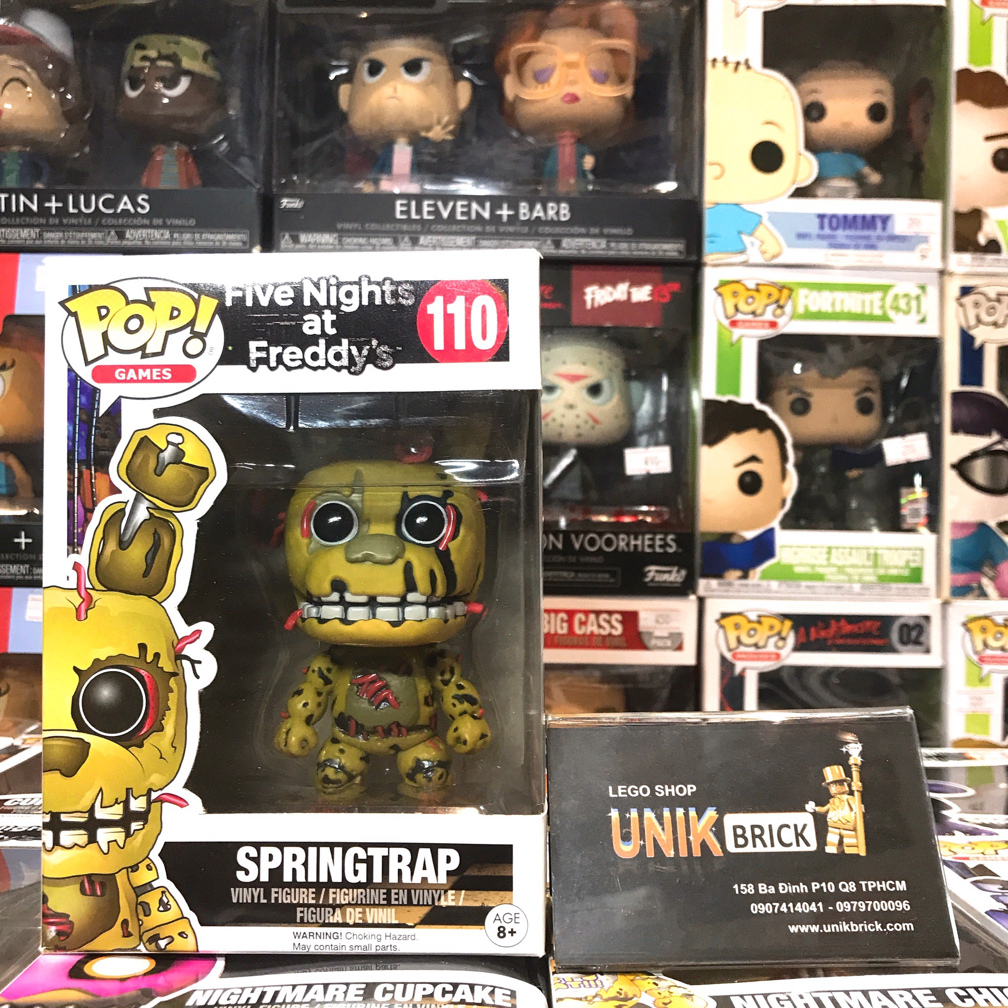FUNKO POP Five Nights at Freddy's 110 Springtrap