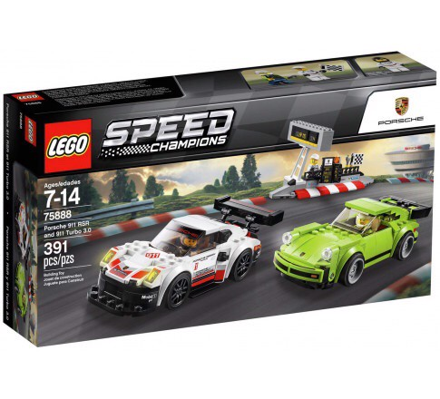 [CÓ SẴN] LEGO Speed Champions 75888 Porsche 911 RSR and 911 Turbo 3.0