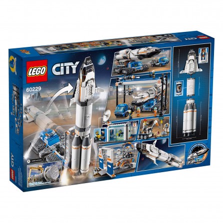 [CÓ HÀNG] LEGO City 60229 Rocket Assembly & Transport