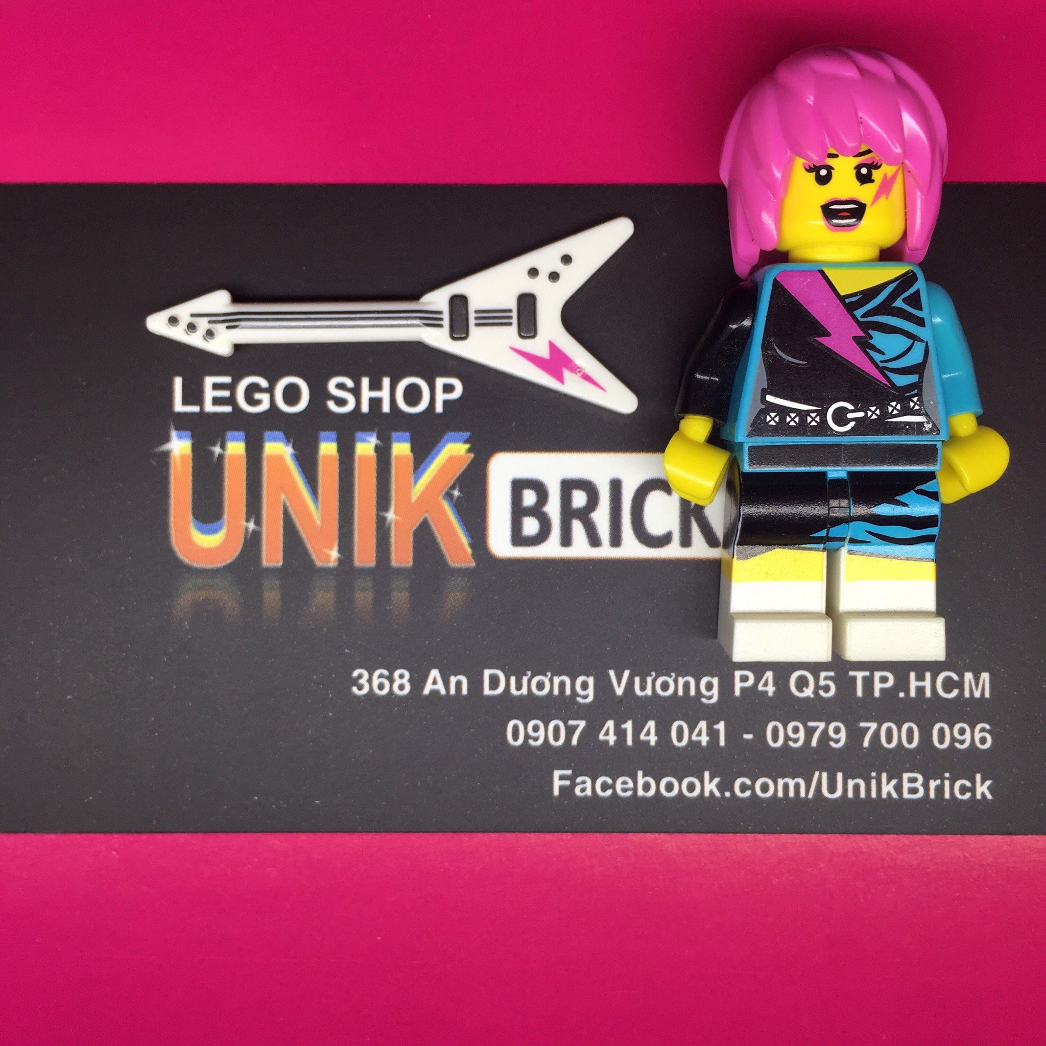 LEGO Rocker Girl (Series 7)