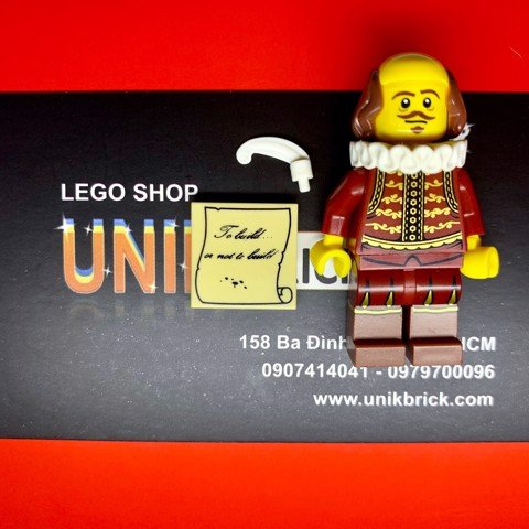 Lego Willam Shakespeare trong The Lego Movie Series 1