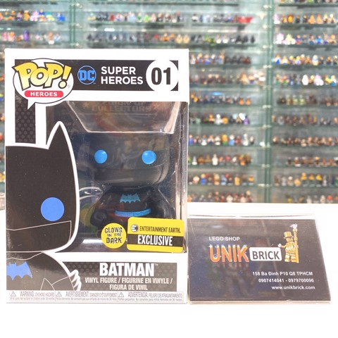 FUNKO POP 01 Batman Glows in the Dark