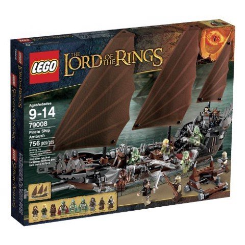 LEGO Lord of The Rings 79008 Pirate Ship Ambush New Sealed Retired