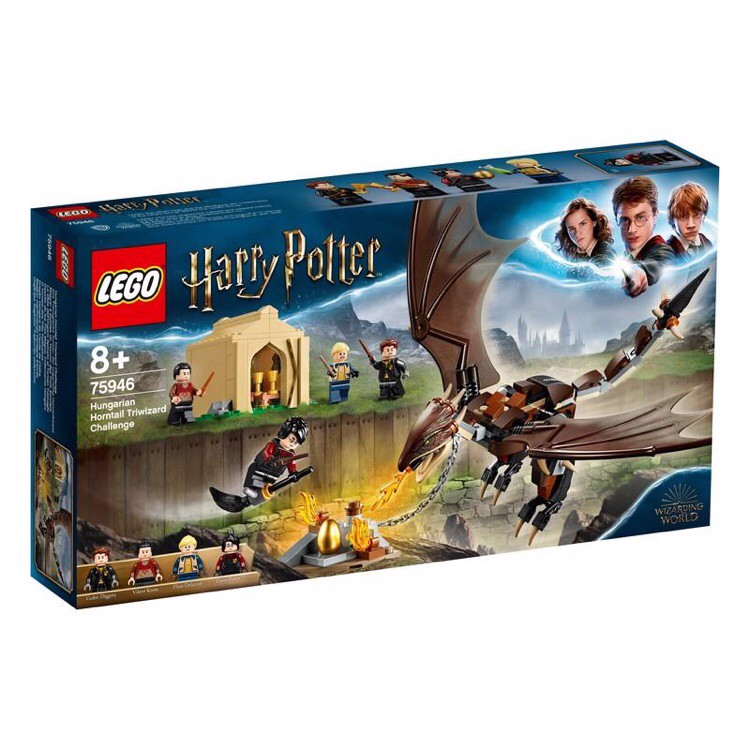 [CÓ HÀNG] LEGO Harry Potter 75946 Hungarian Horntail Triwizard Challenge