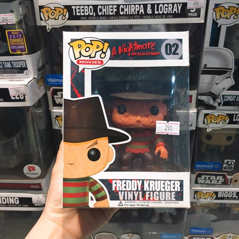 [CÓ SẴN] FUNKO POP 02 A Nightmare On Elm Street Freddy Krueger
